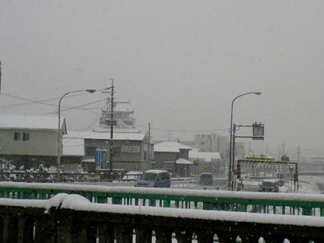 雪の清洲城