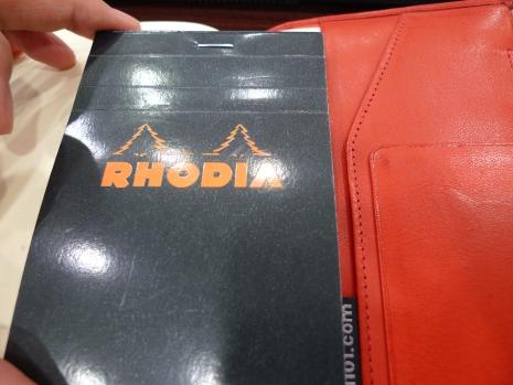ほぼ日手帳+RHODIA(ロディア)が便利2