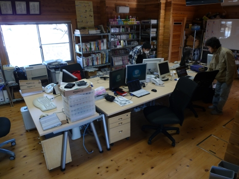 事務所の大掃除をしました