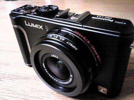 LUMIX(ルミックス)のDMC-LX3を買った
